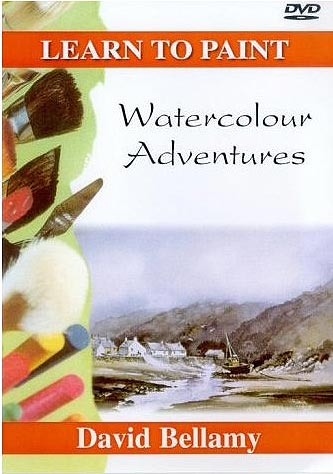 Learn To Paint - Watercolour Adventures - David Bellamy [DVD]