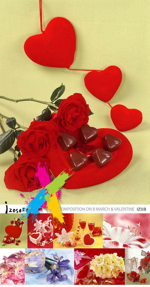 Izosoft IZ110 Composition on 8 March & Valentine