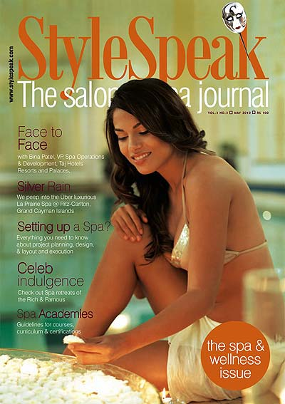 Style Speak, The Salon & SPA Journal, May 2010