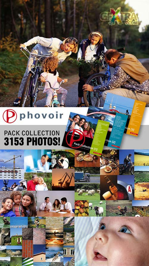 Phovoir Pack Collection - 3xCD, 3153 Photos!