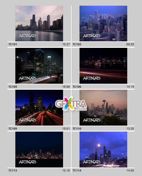 Timelapse Cityscapes PAL