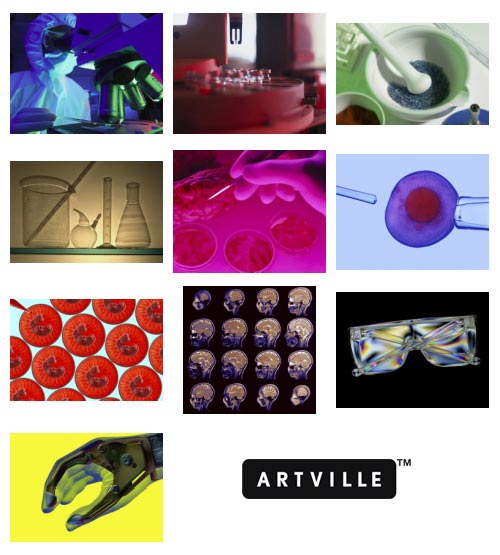 Artville PH105 Science, Research & Technology
