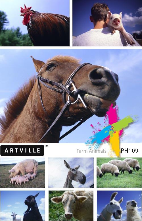 Artville PH109 Farm Animals
