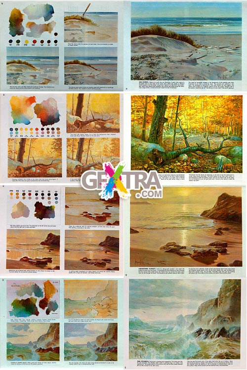 How to Draw and Paint Seascapes & Landscapes by Vernon Kerr