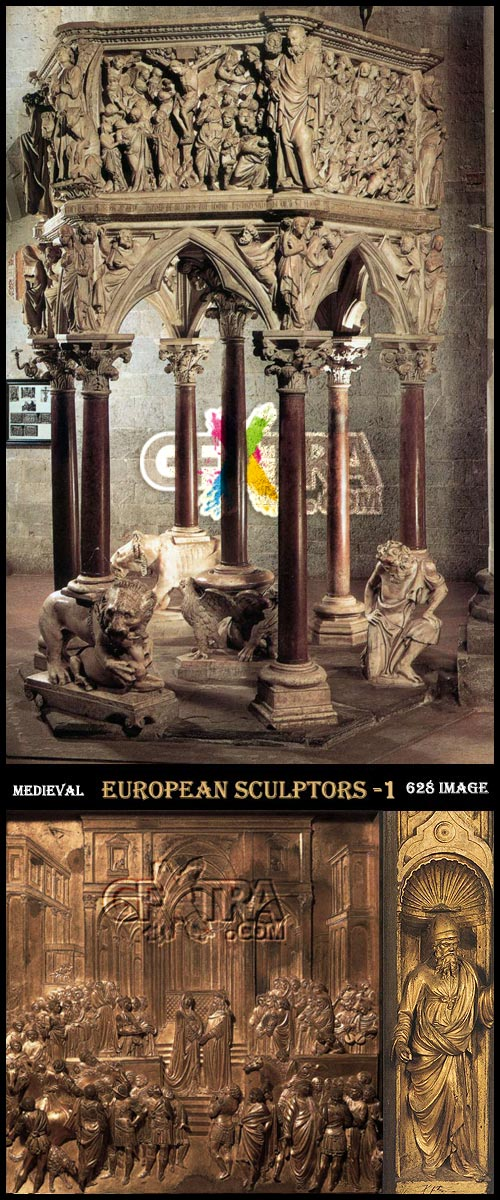 Medieval European Sculptors - 1 [Artists, Works and Periods]