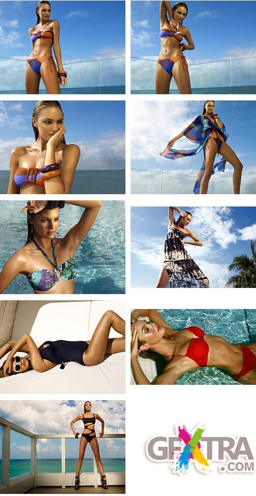 Zeki Swimwear Summer 2010 Collection - Candice Swanepoel