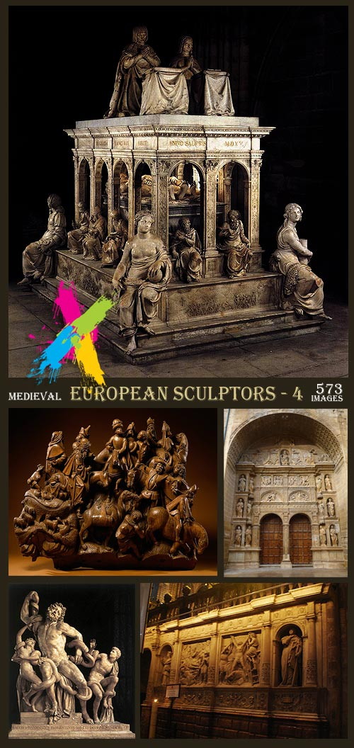 Medieval European Sculptors - 4 [Artists, Works and Periods]