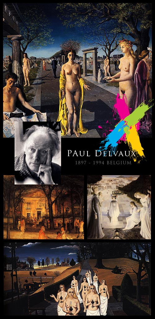 Paul Delvaux - Painter 98xHQ