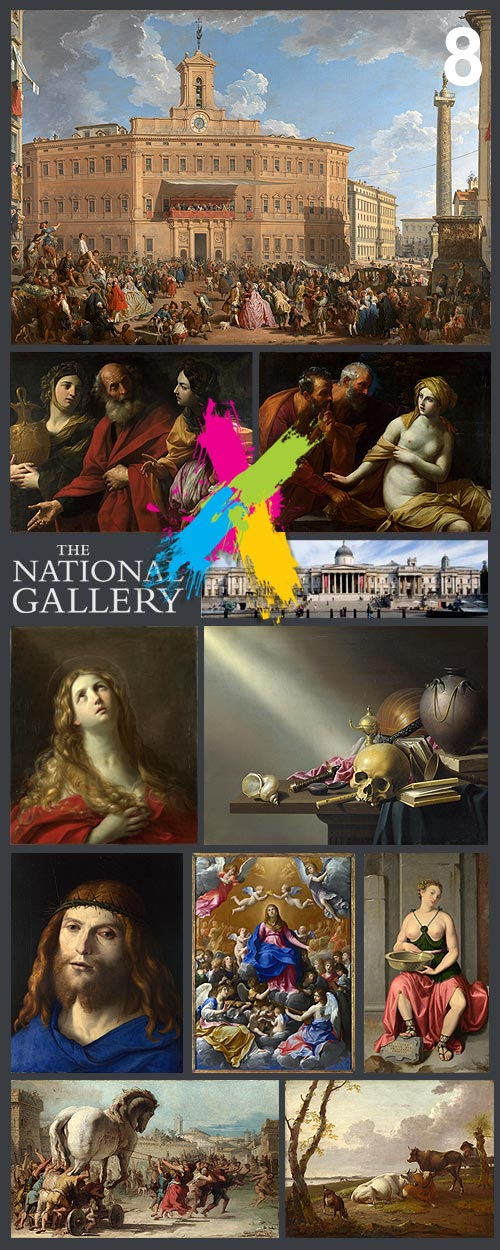 The National Gallery, London 8/8 Ultra HQ 360xJPGs