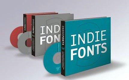 Indie Fonts 1, 2 and 3