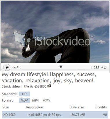 iStockVideo - My dream lifestyle! Happiness, success, vacation, relaxation, joy, sky, heaven! HD1080