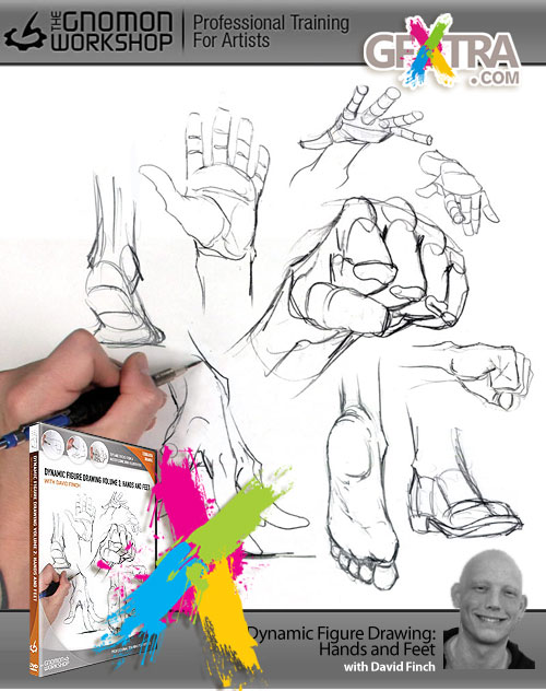 Dynamic Figure Drawing: Hands and Feet with David Finch