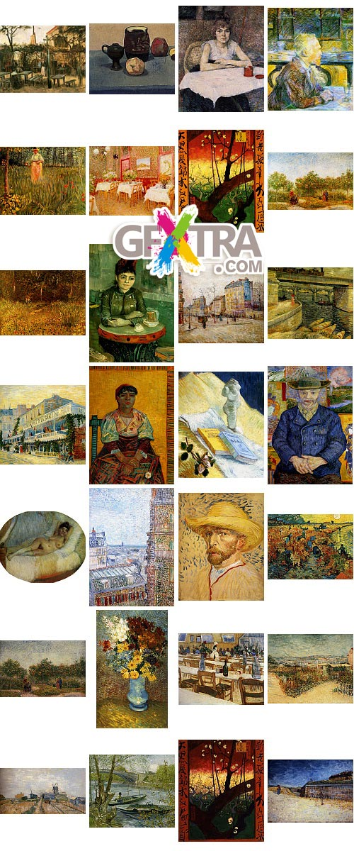Vincent Willem van Gogh 1853-1890 All Known Paintings HQ