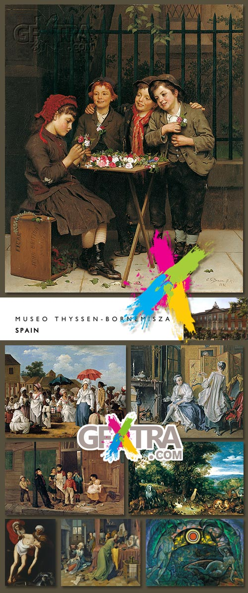 Museo Thyssen - Bornemisza Spain - 700 HQ Images