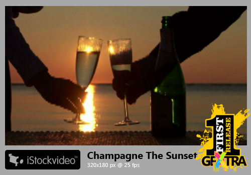 iStockVideo - Champagne The Sunset for WEB