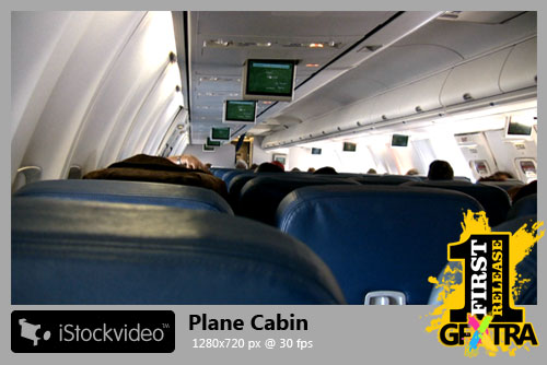 iStockVideo - Plane Cabin HD720