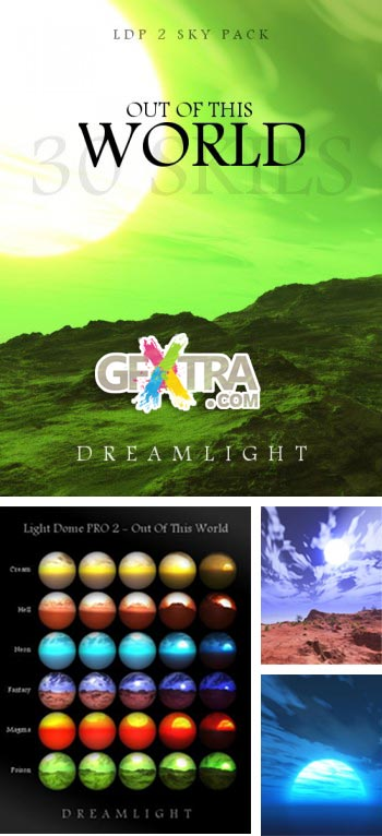 Poser - Daz Studio - LDP 2 Sky Pack Out Of This World