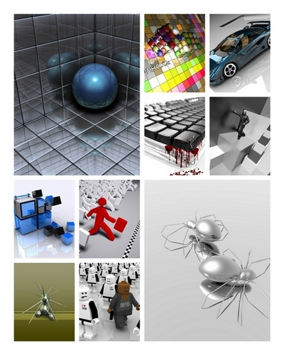 3D graphics wallpaper collection Part 3