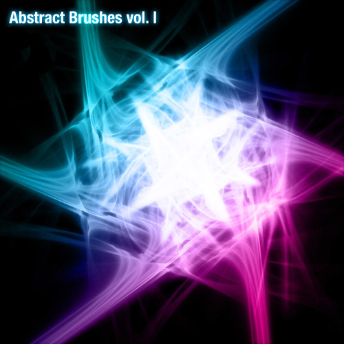 Abstract brushes vol. 1