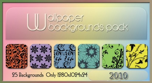 Wallpaper Backgrounds Pack 2010