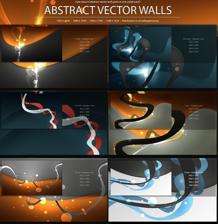 Abstract Vector wallpapers