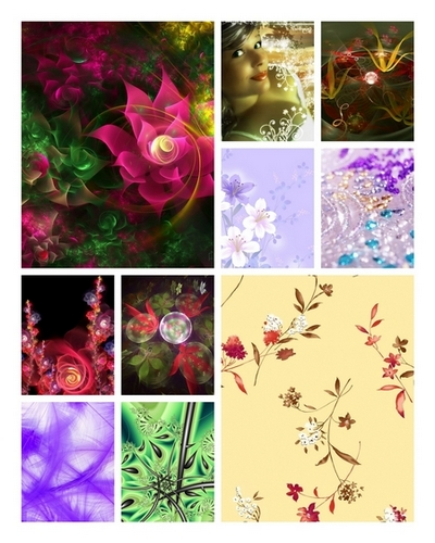 Floral patterns by raimova