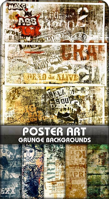 Poster Art Grunge Backgrounds