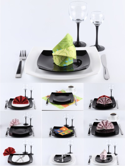 Stock Photos - Dinnerware   Services