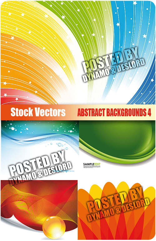 Stock Vectors - Abstract backgrounds 4