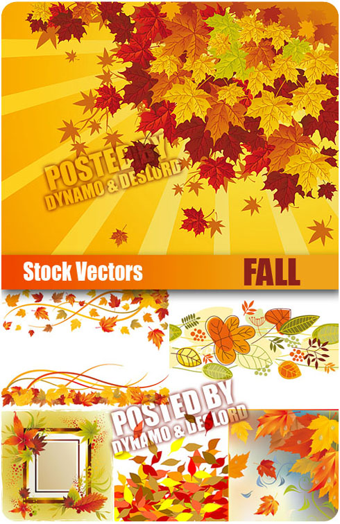 Stock Vectors - Fall