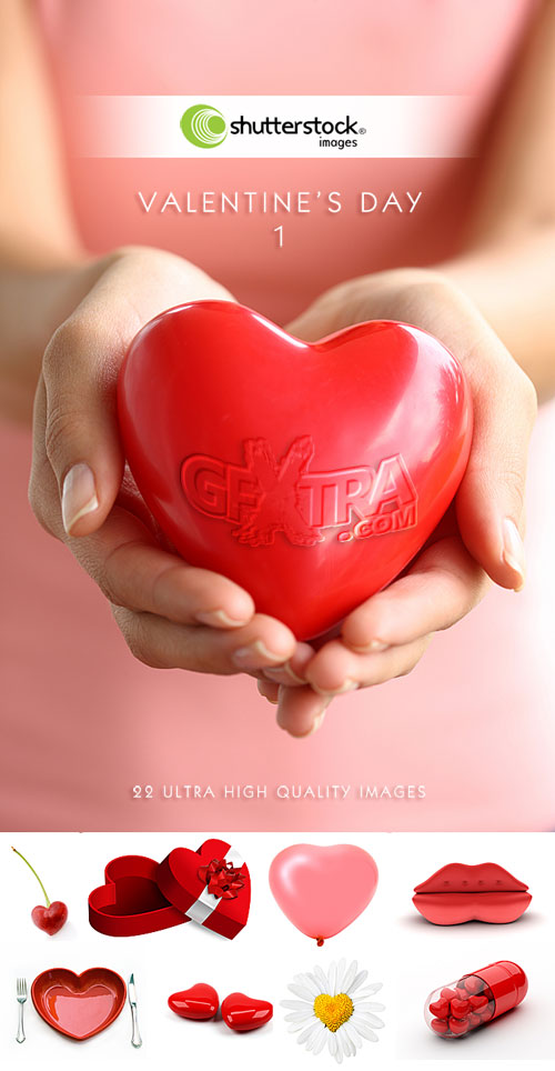 Valentine's Day Images I - 22xJPGs Shutterstock