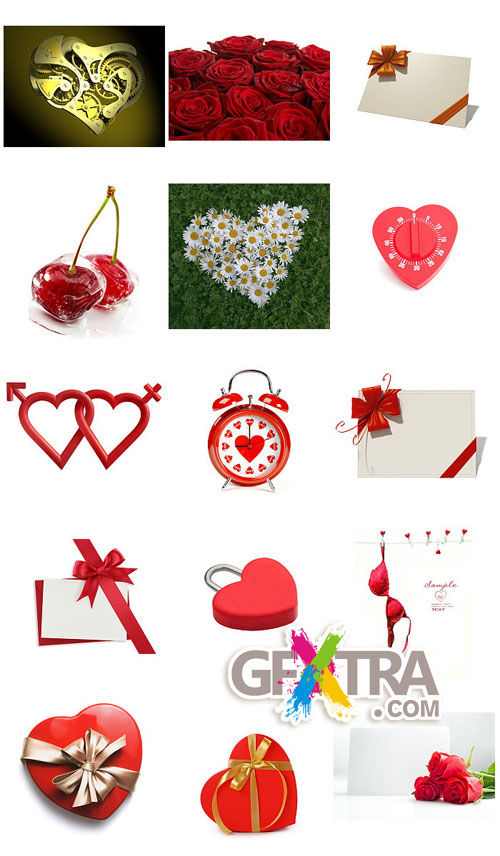 Valentine's Day Images II - 35xJPGs Shutterstock