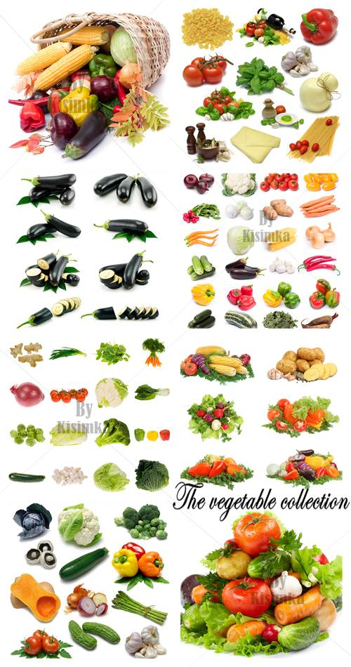 Stock Photo: The Vegetable Collection 9xJPGs