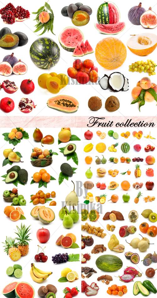 Stock Photo: Fruit Collection 5xJPGs