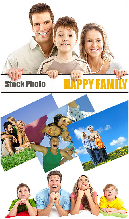 Stock Photo - Happy Family