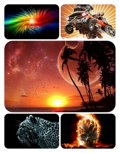 3D graphics wallpaper collection Part 14