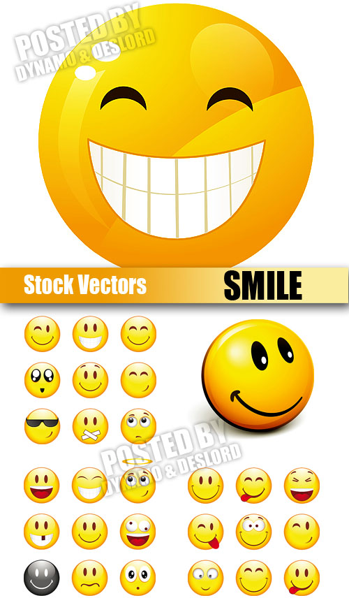 Stock Vectors - Smile