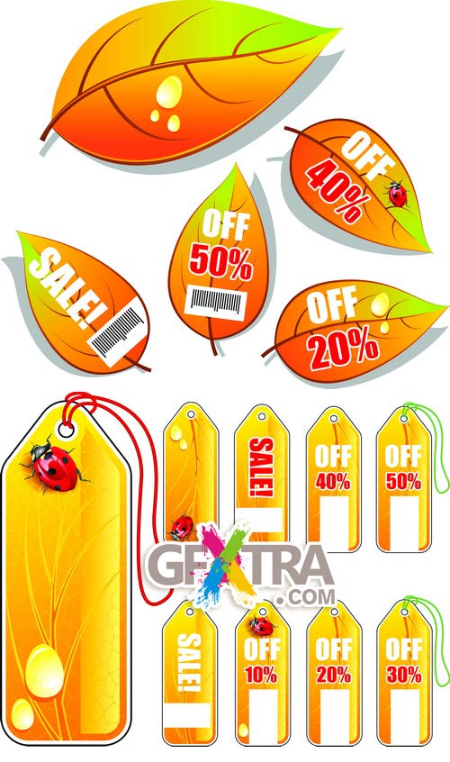 Autumn Sale Tags 2xEPS