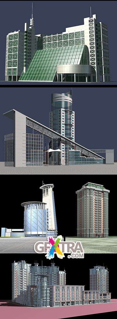 Great Buildings 3DMax Models