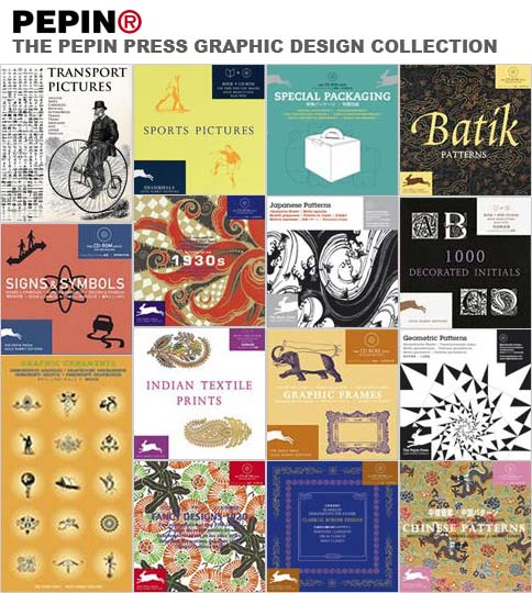 The Pepin Press Graphic Design Collection