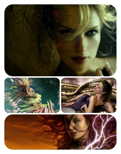 Girls Wallpapers on Amazing Digital Art Girls Hdtv Wallpapers 2