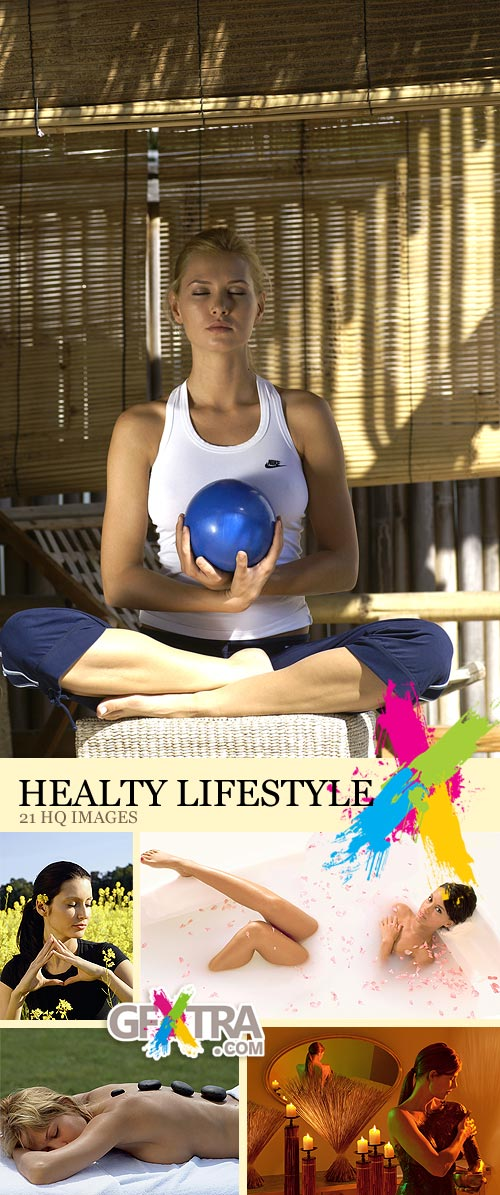 Healty Lifestyle, 21xJPGs