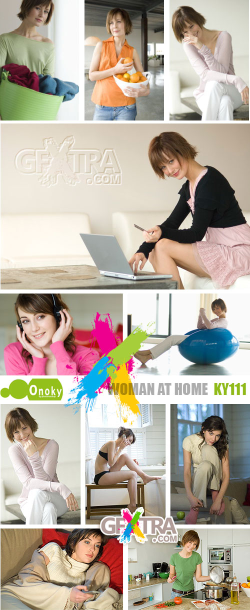 Onoky Images KY111 Women at Home
