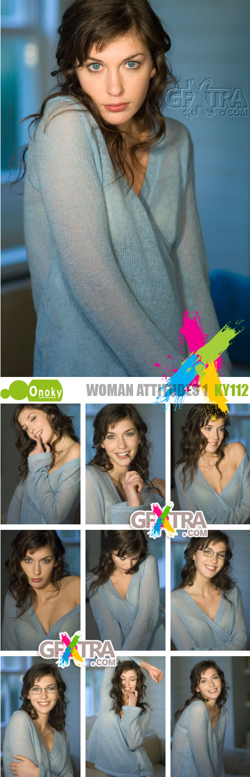 Onoky Images KY112 Woman Attitudes