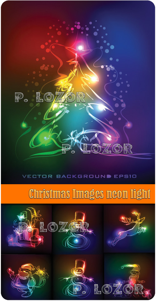 Christmas Images neon light