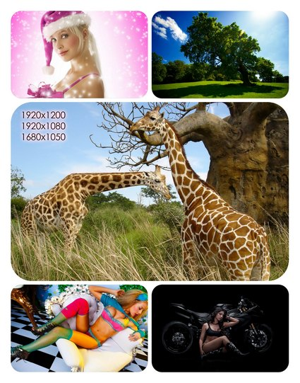 Beautiful Mixed Wallpapers Pack60