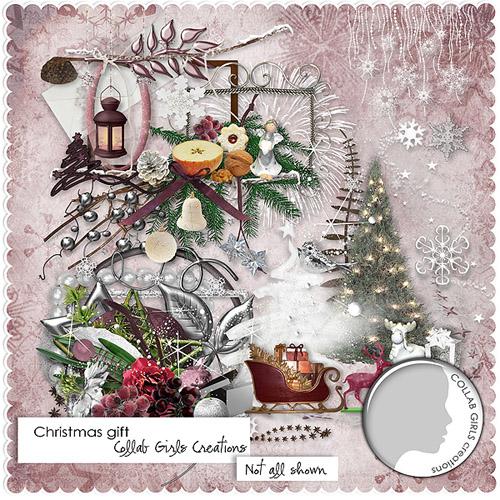 "Scrap-kit - ""Christmas gift"""