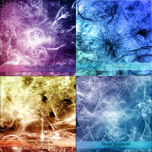 Collection - Fractal Brushes