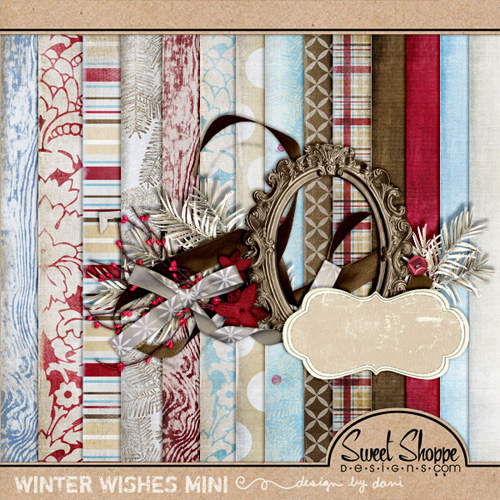 "Scrap-collection ""Winter Wishes"""