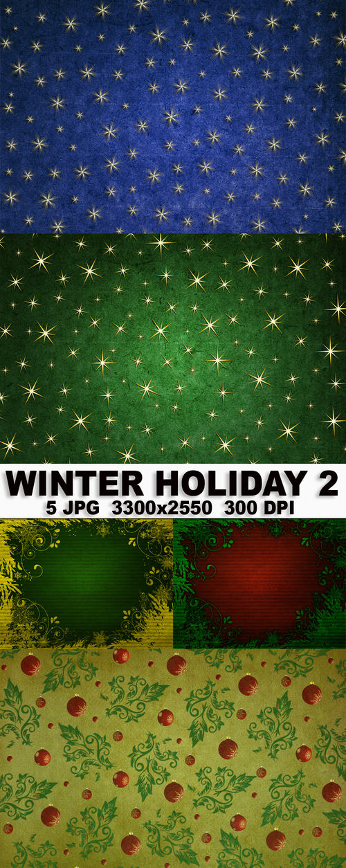 Winter Holiday Backgrounds 2